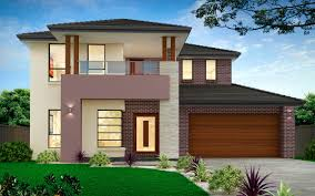 homes designs new home builders glenleigh 39mk1 double storey home designs