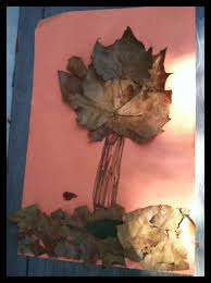 magazine for homeschooled kids fall leaf tree craft for kids