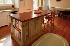 wood kitchen island reclaimed wood kitchen island with bookcase farmhouse tables and