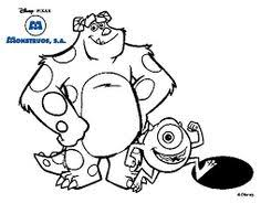 characters monsters coloring pages monster party
