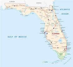 Florida Map Of Beaches by Map Of Florida