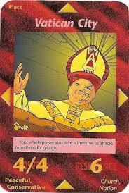 illuminati card vatican city illumanati card