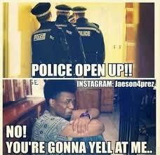 Door Meme - convict has another reason not to open door to police meme your