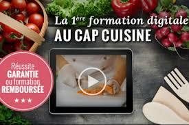 formation cap cuisine recette en vidéo cette ée je passe mon c a p cuisine en