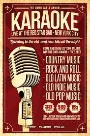 country music karaoke free karaoke flyer template http xtremeflyers com karaoke flyer