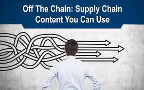 off the chain supply chain content you can use june 2016