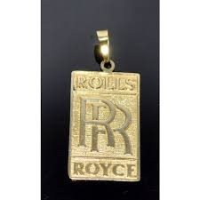 custom pendant royce charm 14k gold custom made pendant
