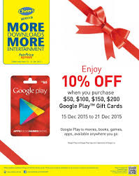 play store gift card discount