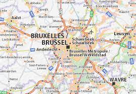 map brussels map of brussels michelin brussels map viamichelin