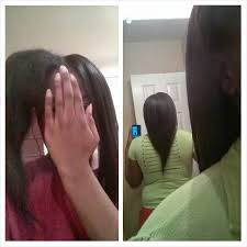 natural hair no heat challenge long relaxed hair transitioning to natural hairfinity 6 months no