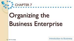 organizing the business enterprise itb youtube