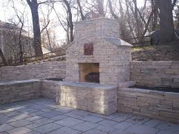 Outdoor Fireplaces Pictures by Fireplaces More Detail Stone