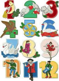 christmas applique advanced embroidery designs 12 days of christmas applique set
