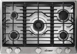 Design Ideas For Gas Cooktop With Downdraft Kitchen Design Dacor Gas Cooktop With 5 Sealed Burners And Gas