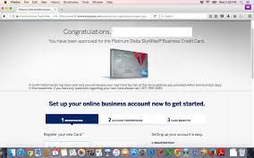 American Express Business Card Application Amex Delta Platinum Biz Approved 10k Myfico Forums 4667762
