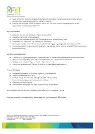 Account Executive Job Description For Resume Fitt Team Member U2013 Account Manager