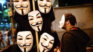 Guy Fawkes Mask Halloween by Anonymous Mask Guy Holding A Rose Google Search The Anonymous