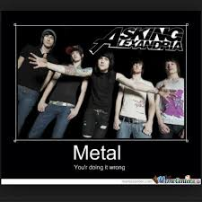 Emo Band Memes - metal problems memes on twitter metal askingalexandria emo