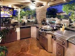 kitchen attractive outdoor kitchen counter and brown brick
