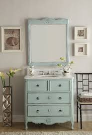 34 Inch Vanity 34 Inch Vanity Hf081lb Distressed Light Blue