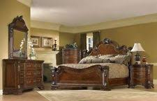 Traditional Cherry Bedroom Furniture - king traditional bedroom furniture sets with 4 pieces ebay