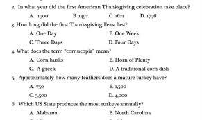 prettie thanksgiving trivia