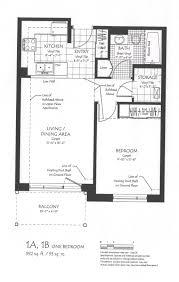 One Bedroom Apartments Floor Plans by One Bedroom Floor Plan