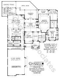 mountain lodge floor plans montana lodge house plan 06420 1st floor plan mountain style house