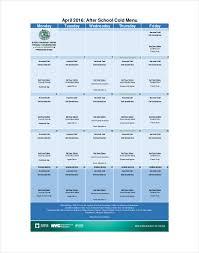 menu templates u2013 14 free printable pdf documents download