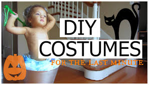 diy easy affordable last minute halloween costume ideas