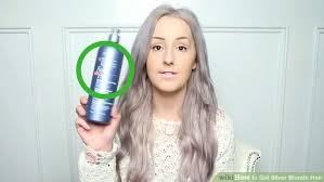 silver blonde color hair toner how to get silver blonde hair how to do it