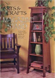 Furniture Plans Bookcase by 220 Arts U0026 Crafts Stand Bookcase Plans Furniture Plans Barn