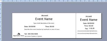 raffle ticket template publisher expin franklinfire co