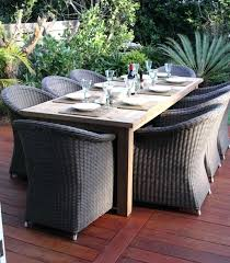 wicker dining table with glass top outdoor wicker dining table large size of furniture outdoor wicker