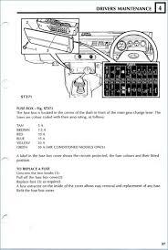 1993 range rover fuse box wiring diagrams schematics
