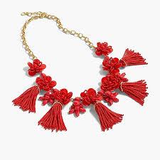 red necklace women images Honeymoon tassel necklace women necklaces j crew 1,0,0