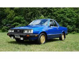 subaru brat 2017 1983 subaru brat for sale classiccars com cc 997513