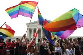 marriage us supreme court celebrates with rainbow