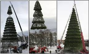 large artificial trees