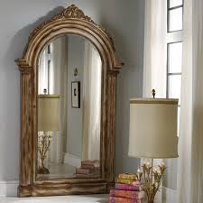Full Length Mirror Jewelry Storage Recessed Wall Mounted Wooden Jewelry Armoire 14 25w X 48h In