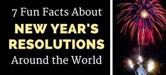 7 facts about new year s resolutions around the world