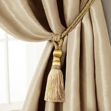 Rope Curtain Tie Back Curtains Center Curtain Tie Backs Magnificent Decoration Ideas