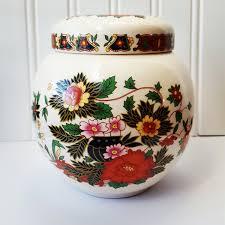 ginger jar vintage sadler ginger jar or tea container made in england 1937