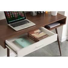 bureau 110 cm roset bureau 110 cm décor noyer déco fr