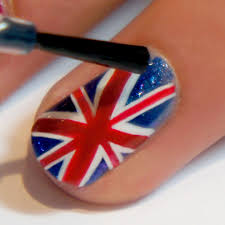 British Flag Nails Royal Baby Nail Art Get Set For The Historic Birth With These