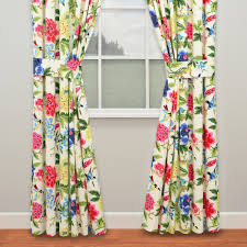 charmed floral window treatment by waverly
