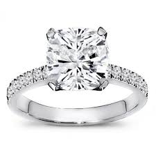 2 carat cushion cut diamond 1 1 2 carat cushion cut diamond engagement ring worldjewels