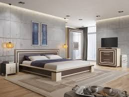 bedroom white and brown platform bed brown wooden floor bedroom white and brown platform bed brown wooden floor bedroom concrete wall panels design ideas