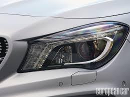 mercedes headlights 2014 mercedes benz cla250 sport first drive photo u0026 image gallery