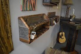 buy a handmade barn wood wine rack made to order from montana